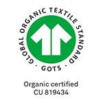 GOTS luomupuuvilla sertifikaatti