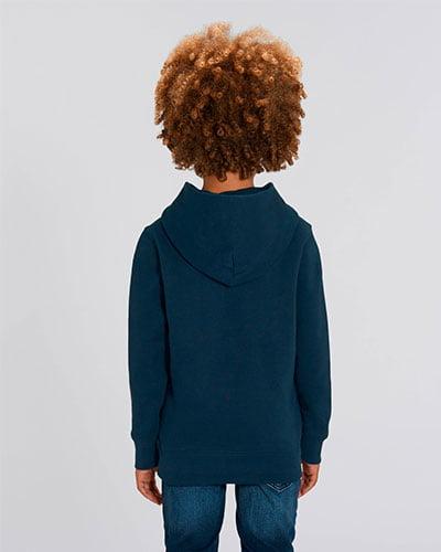 lasten hupparin selkäpuoli
