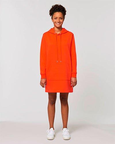 oranssi hupparimekko